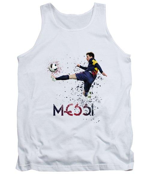 Messi Tank Top by Armaan Sandhu