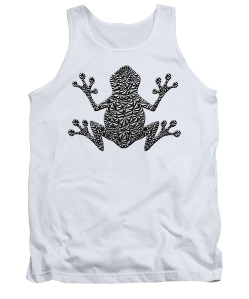 Metallic Frog Tank Top by Chris Butler