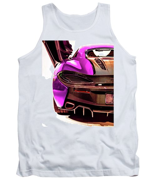 Tank Top featuring the photograph Metallic Heartbeat by Karen Wiles