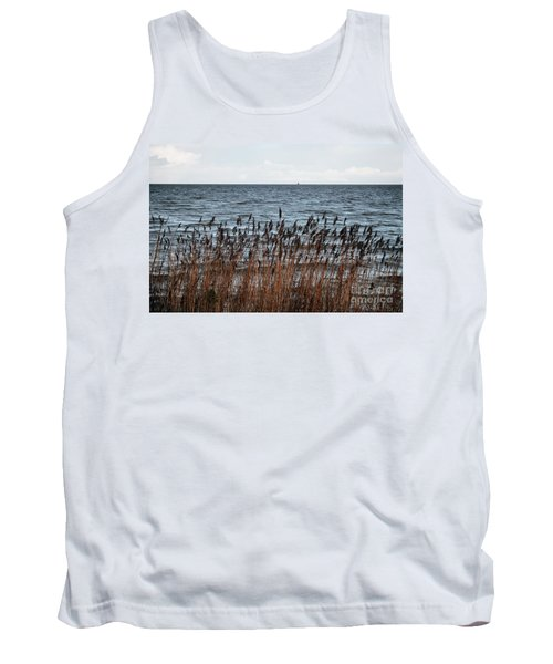 Metallic Sea Tank Top