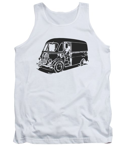Metro Step Van Tee Tank Top by Edward Fielding