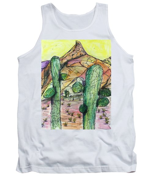 Mexican Desert Tank Top