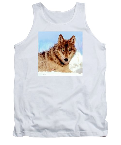 Mexican Wolf Painting Tank Top