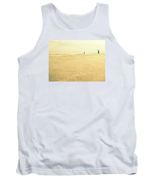 Miami Beach 2 Tank Top by France Laliberte