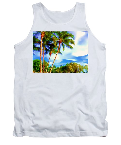 Miami Maurice Gibb Memorial Park Tank Top