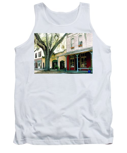 Micanopy Storefronts Tank Top