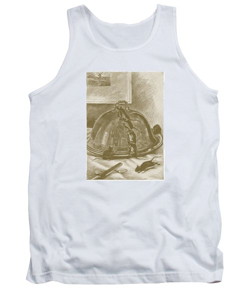 Mice Have It Covered Tank Top by David Davies