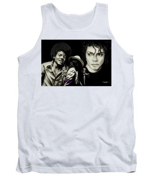 Michael Jackson - The Man In The Mirror Tank Top