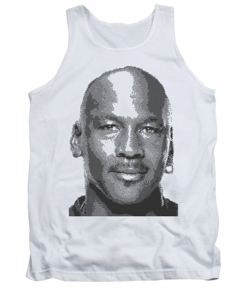 Michael Jordan - Cross Hatching Tank Top