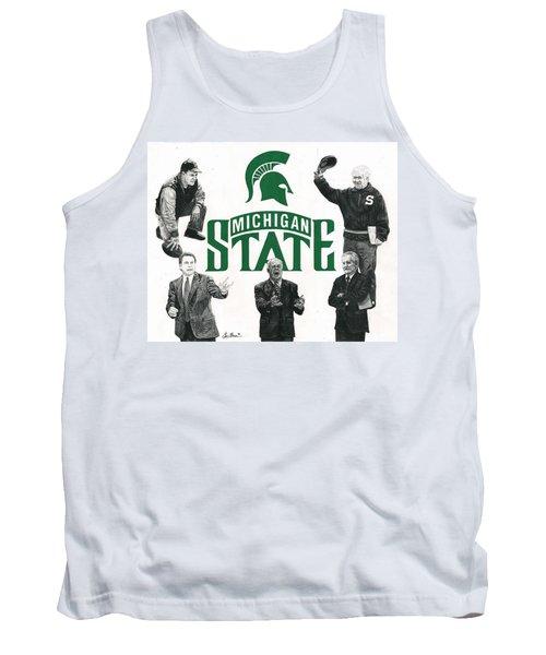 Michigan State Coaching Legends Tank Top