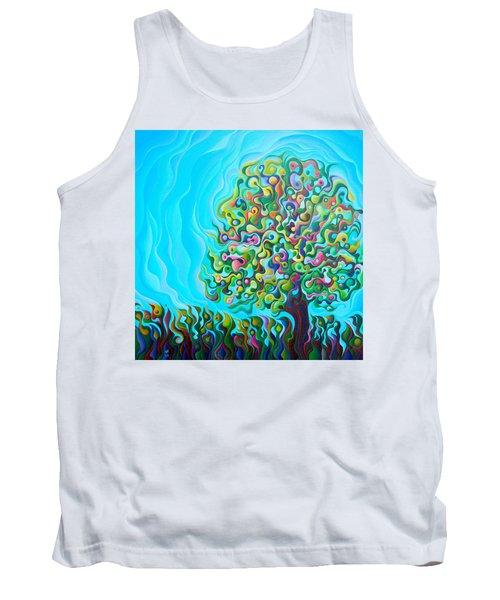 Mid-summer Tree Breath Tank Top
