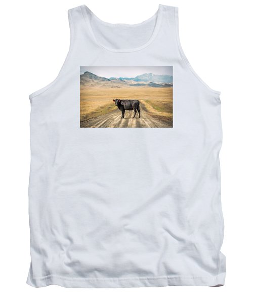Middle Of The Road Tank Top