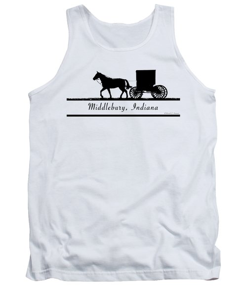 Middlebury Indiana T-shirt Design Tank Top