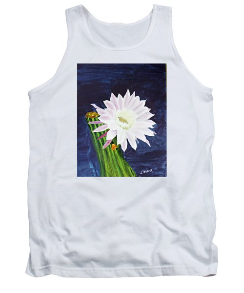 Midnight Blossom Tank Top by Jack G  Brauer