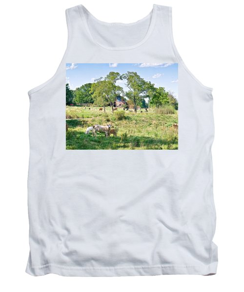 Midwest Cattle Ranch Tank Top