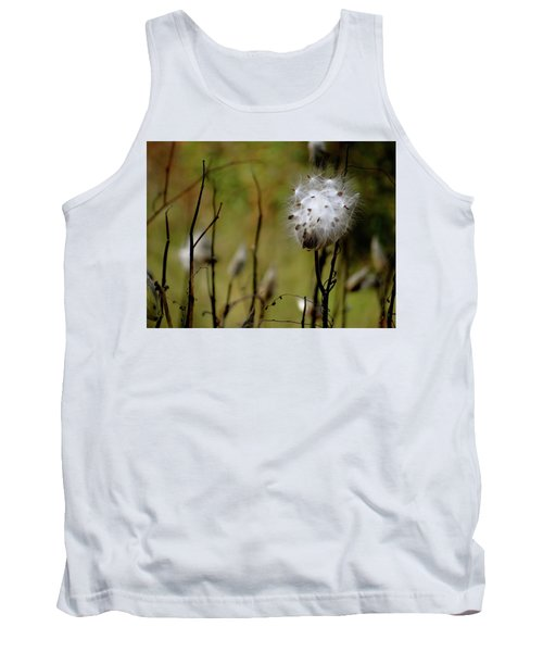 Milkweed In A Field Tank Top