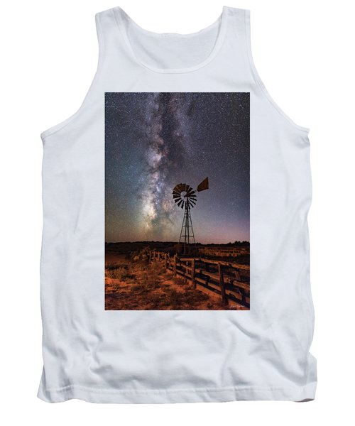 Milky Way At Dubinky Well Tank Top