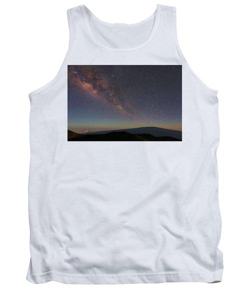 Milky Way Over Mauna Loa Tank Top