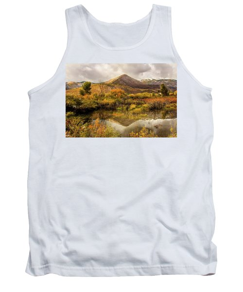 Mill Canyon Peak Reflections Tank Top
