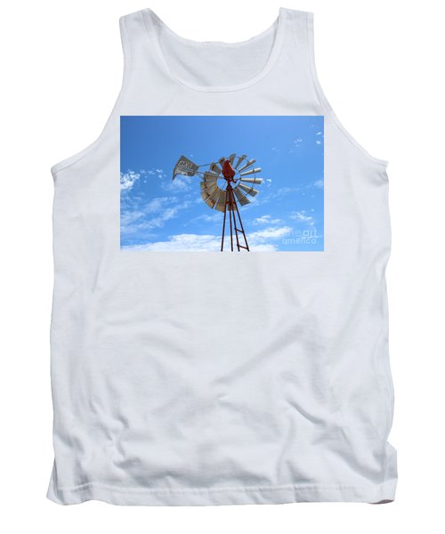 Milled Wind Tank Top by Stephen Mitchell
