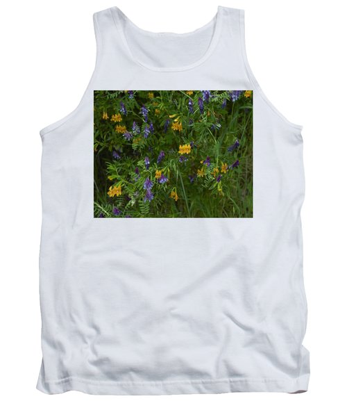 Mimulus And Vetch Tank Top by Doug Herr
