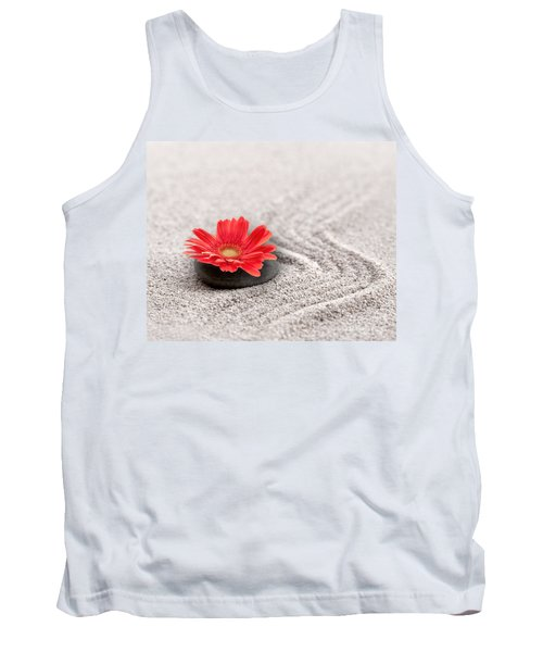 Mineral Flower Tank Top