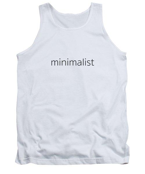 Minimalist Tank Top
