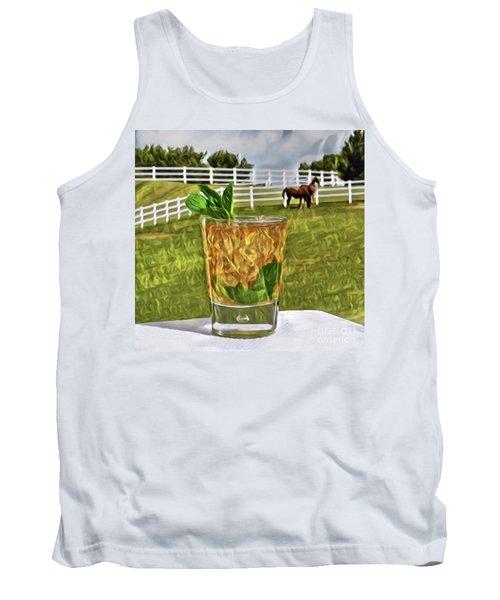 Mint Julep Kentucky Derby Tank Top