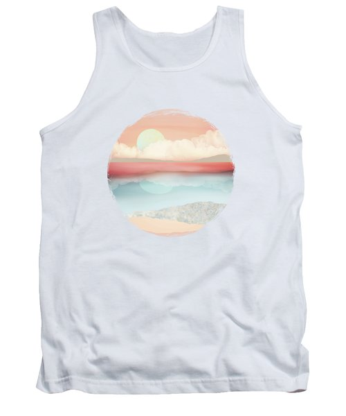 Mint Moon Beach Tank Top