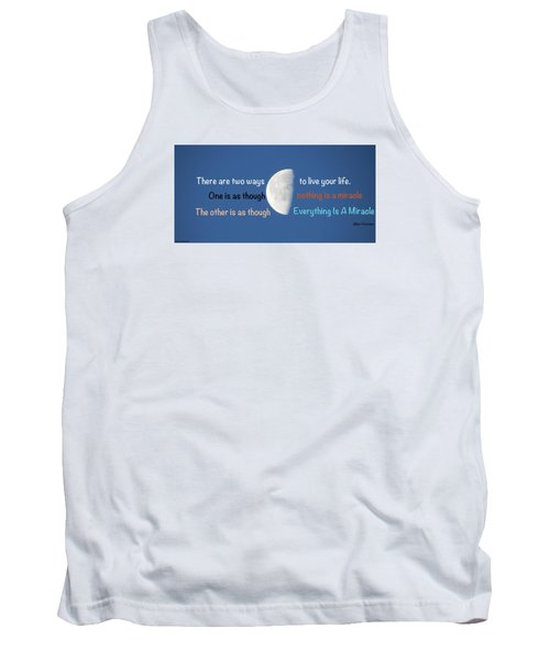 Tank Top featuring the photograph Miracles by David Norman