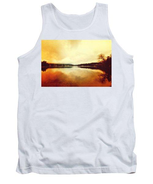 Mirror Lake At Sunset Tank Top