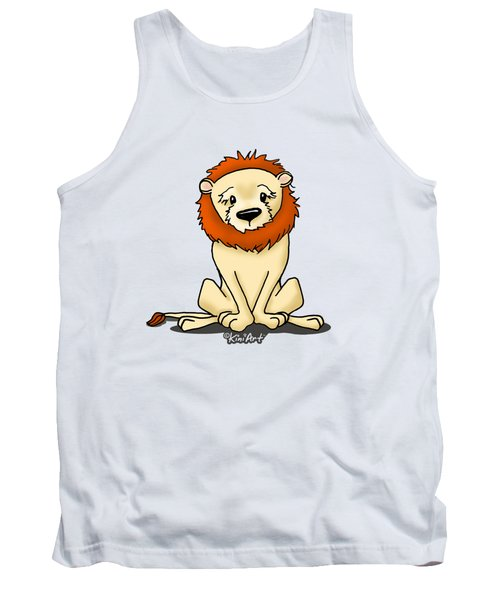 Lion Peaceful Reflection  Tank Top