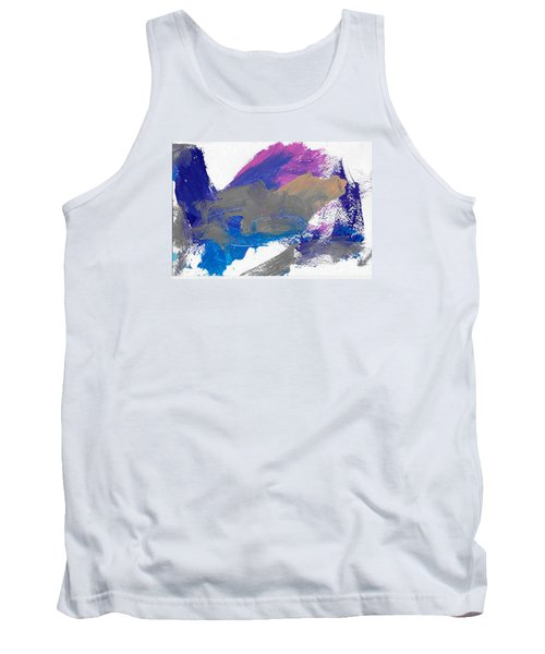 Tank Top featuring the painting Miss Emma's Abstract by Fred Wilson