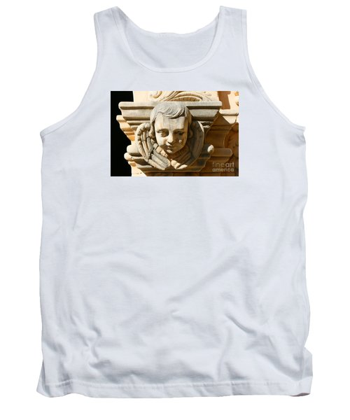 Tank Top featuring the photograph Mission San Jose Angel by Jeanette French