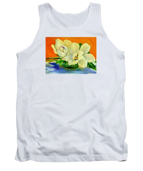 Mississippi Magnolias Tank Top by Jeanette Jarmon