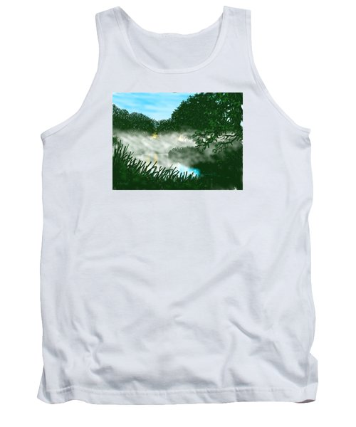 Mist On The River Ouse Tank Top