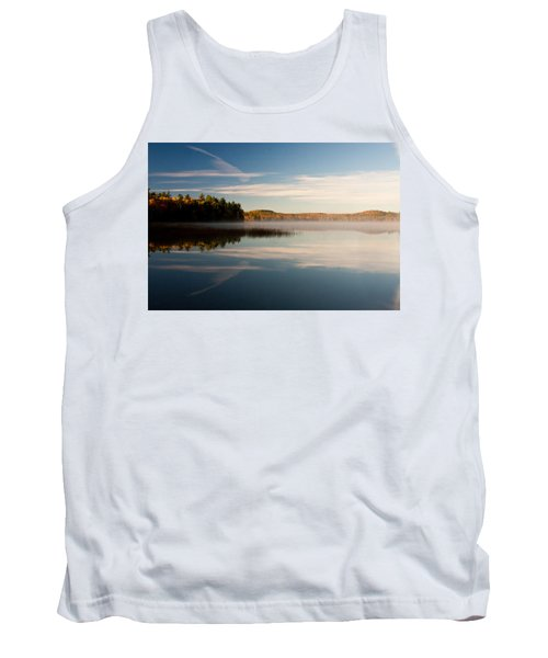 Misty Morning Tank Top by Brent L Ander