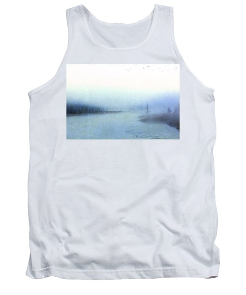 Misty Morning Tank Top by Catherine Alfidi