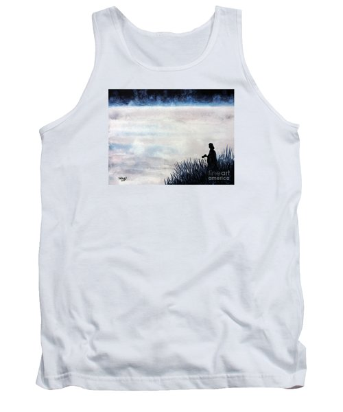 Misty Morning Photographer Tank Top