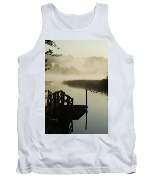 Misty Oregon Morning Tank Top