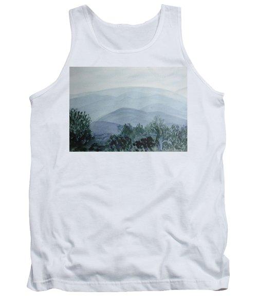 Misty Shenandoah Tank Top by Donna Walsh