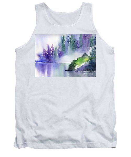 Misty Summer Tank Top by Yolanda Koh