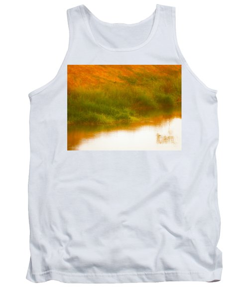 Misty Yellow Hue -lone Jacana Tank Top