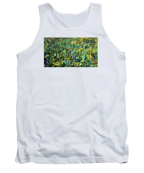 Mixed Wildflowers In Texas Tank Top