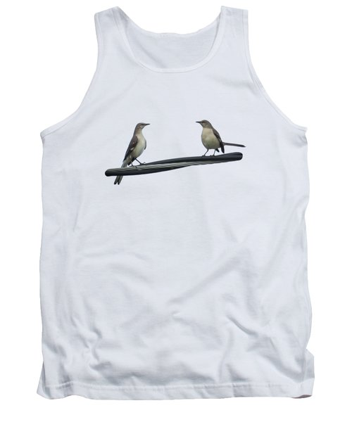Mockingbirds On The Wire Tank Top