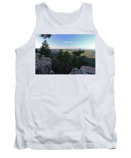 Tank Top featuring the photograph Mogollon Morning by Gary Kaylor