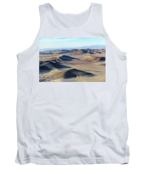 Tank Top featuring the photograph Mojave Desert by Jim Thompson