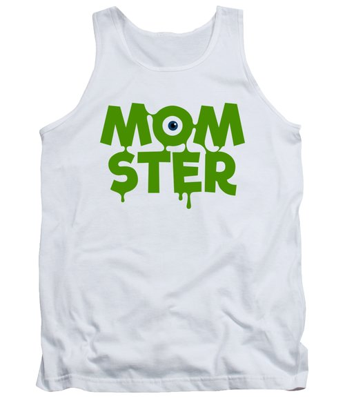 Momster Halloween Funny Monster For Mom And Women Humor Halloween Easy Costume Office Parties Tank Top
