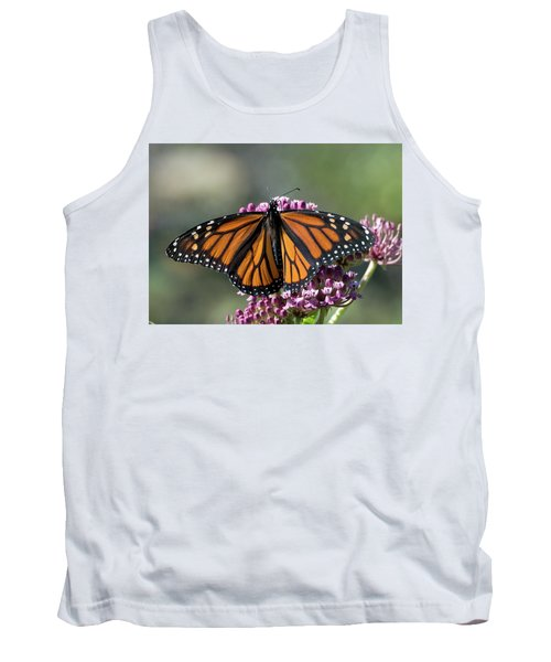 Tank Top featuring the photograph Monarch Butterfly by Stephen Flint