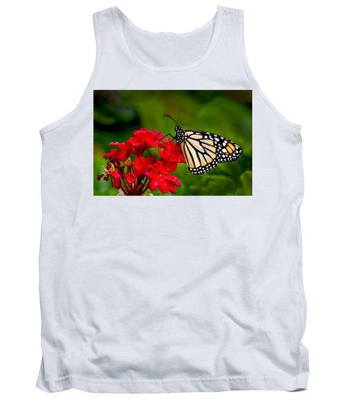 Monarh Butterfly Tank Top
